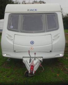 Ace Jubilee Courier 2009 6 Berth Caravan