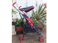 Pushchair/Stroller - Suncover & Raincovers - Vgc.
