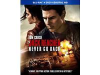 Jack Reacher: Never Go Back (2016) HD DVD