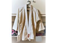 Kids Ju Jitsu Suit/ Gi, white, cotton, in very good quality, good condition, size 2/150