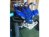Raptor 660 road legal quad (cheap cheap)