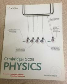 Collins Cambridge IGCSE PHYSICS Course Book & CD