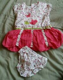 Baby girl dresses and sleep suit