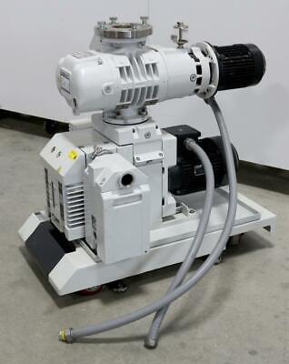 Oerlikon Leybold Ruvac Wau 251 Roots Vacuum Pump  Trivac D40b Rotary Vane Pump