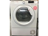 11 Hoover DMCD1013B 10kg White LCD Condenser Sensor Dry Tumble Dryer 1 YEAR GUARANTEE FREE DELIVERY