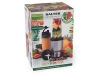 SALTER NUTRI SLIM HEALTH BLENDER MAKES HEALTH JUICE SMOOTHIES NEW IN BOX