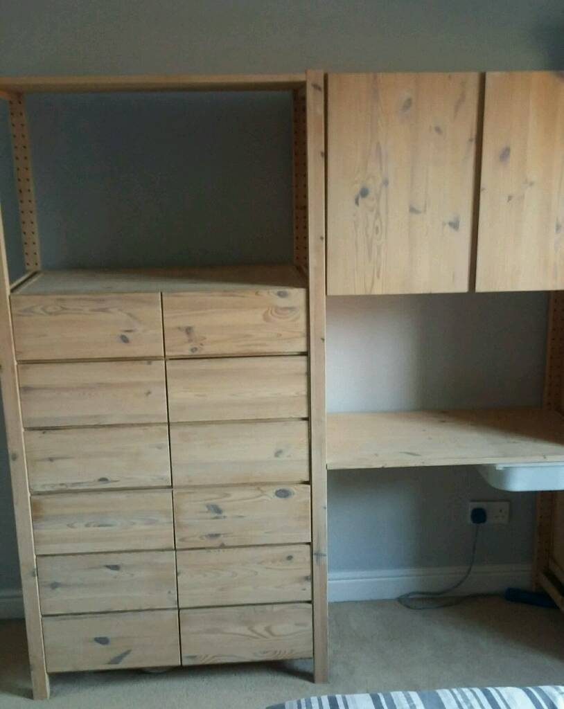 buy popular ce630 06f3d Ikea Ivar Storage unit Chest Of drawers, Cupboard, Desk | in Shepton  Mallet, Somerset | Gumtree