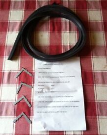 Hotpoint Creda Belling & Ariston 4 Sided Cooker Oven Rubber Door Seal & Clips