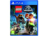 LEGO JURASSIC WORLD - Playstation 4 - NEW & SEALED!!