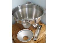 PRESERVING PAN - HEAVY-BASED STAINLESS STEEL, PLUS ACCESSORIES