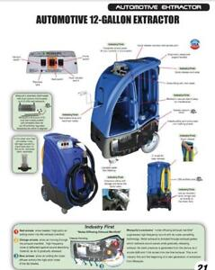 Automotive Detailing Equipment / Extractor With Heater / Heavy Duty Industrial Professional