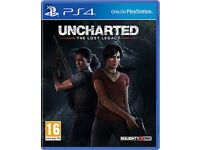 Uncharted lost legacy brand new ps4