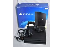 Sony Playstation 4 Pro 1TB Game Console - 2x Controller FIFA 21 and GTA V
