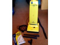 Lightweight Hoover Turbo Power 2 Vacuum Cleaner Yellow FULLY WORKING + 4 new bags