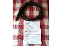 Universal cooker oven door seal, square corners