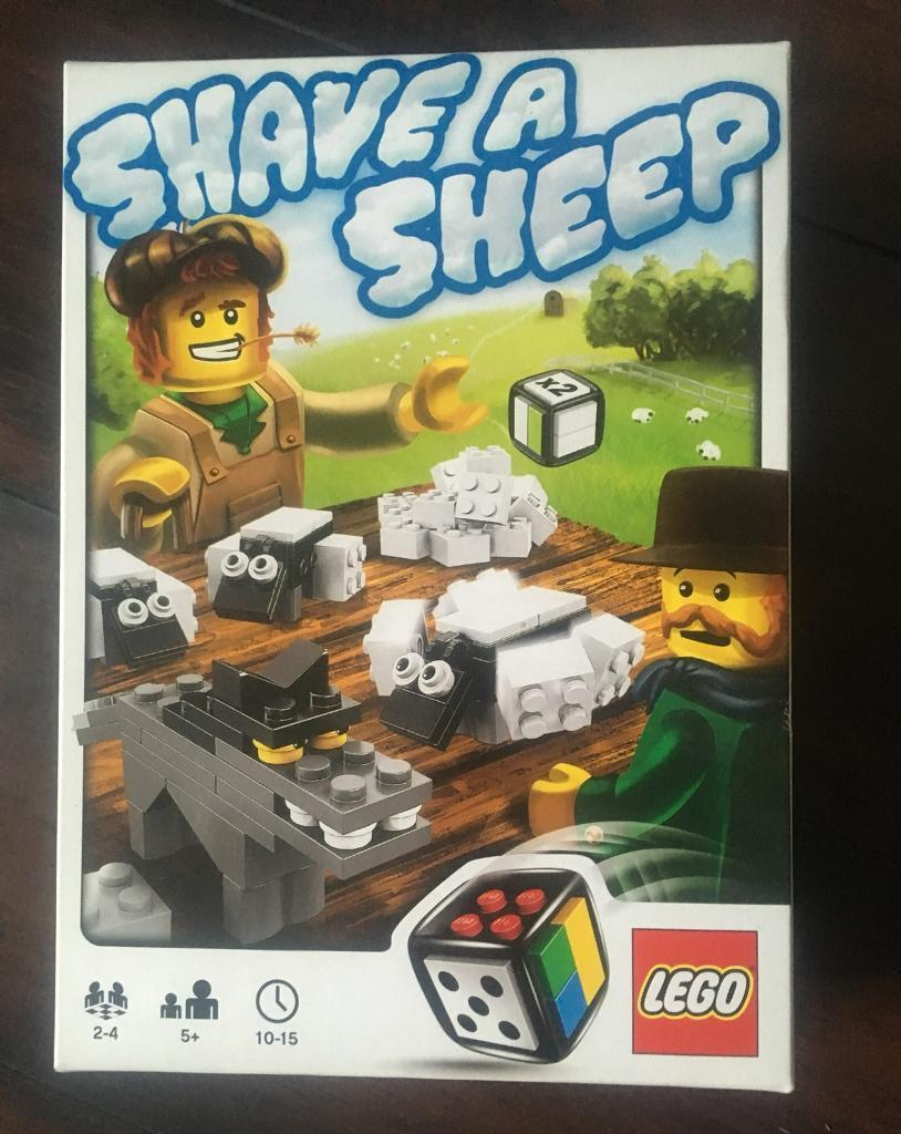 Lego Shave A Sheep Board Game