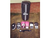 Punch bag & boxing accessories