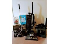 Kirby Vacuum cleaner with complete Shampoo System and Hard Floor care kit