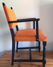 Ex Officers Mess Desk Chair - Mid-Century