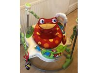 Fisher Price Rainforest Jumperoo - collection from Balham