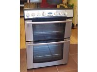 60cm Belling Ceramic Cooker, Double Fan Assisted Oven/Grill - 6 Months Warranty