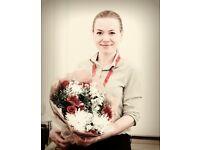 English teacher / tutor in Central London - friendly, patient, effective