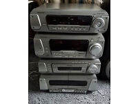 Quality Technics Hi-Fi System EH-750, 5-Disc Changer, (All in good working order)