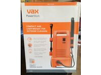 VAX COMPACT PRESSURE WASHER Brand new - Only £50