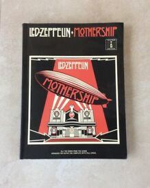 Led Zeppelin Mothership guitar book