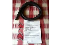 Universal cooker oven door seal, square corners - bargain for £ 5