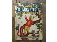 Rupert Bear the Daily Express Annual Retro Collectable