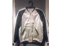 Women's Silk Jacket H&M Size 10 New
