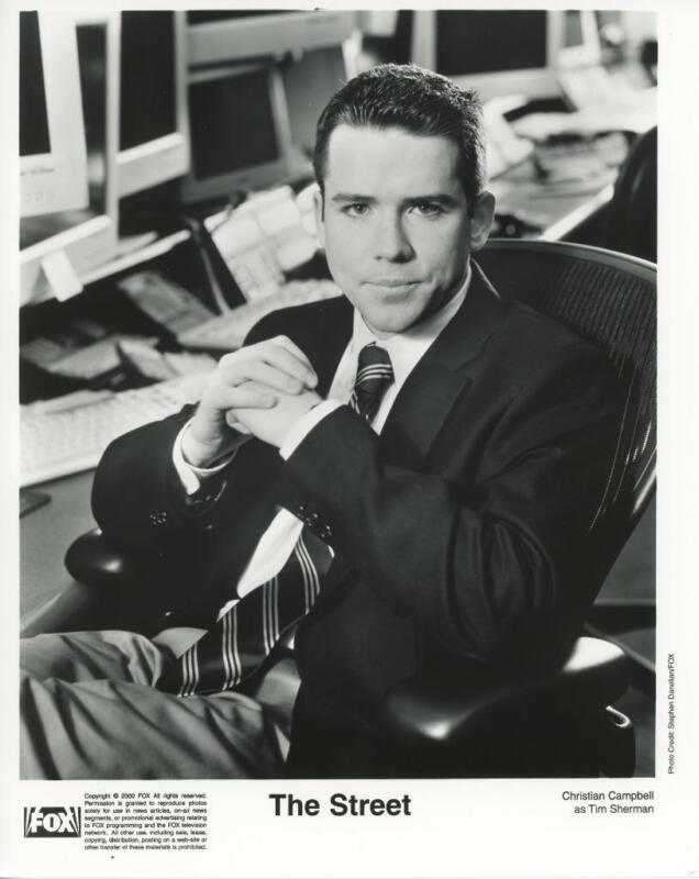 """Christian Campbell in """"The $treet"""" Original TV Still"""