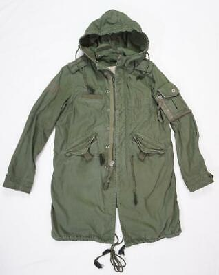 GAP PROJECT/PRODUCT RED BONO WOMEN XS USED/WEAR MILITARY PARKA ARMY GREEN -