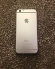 iPhone 6, 64GB, unlocked, black-silver, grade B, minor scratches, well looked after