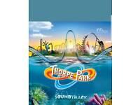 Thorpe park ticket Friday 27th july