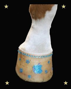 Hoof Bling - a fun way to dress up your horse or pony's hooves!