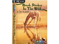 Brush Strokes in the Wild - A superb range of card templates by award winning artist Stan Kaminski
