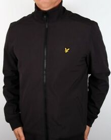 Lyle and Scott Zip through soft shell funnel neck jacket brand new size large