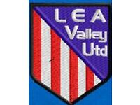 Football Team Lea Valley United u13's looking for new players for 2018-2019 season.