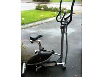 2 in 1 cross trainer/bike