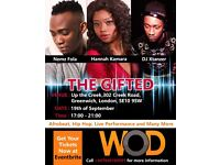The Gifted Music Event: Afrobeats, Hip-Hop, Live Perfomances