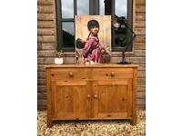 Vintage pine sideboard cupboard pantry