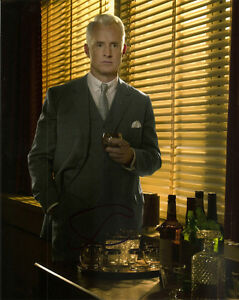 JOHN-SLATTERY-GENUINE-AUTHENTIC-SIGNED-MAD-MEN-10X8-PHOTO-AFTAL-UACC-9779