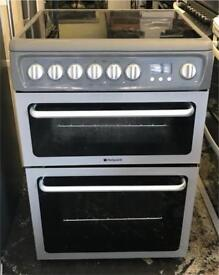Hotpoint ceramic electric cooker is 60 cm good condition