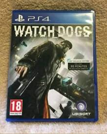 Watchdogs for ps4 game