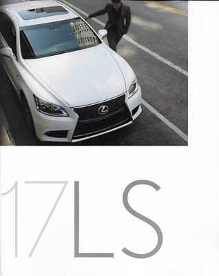 2017 17 Lexus LS original sales brochure
