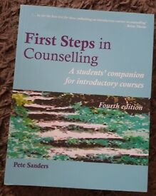 First Steps in Counselling Book