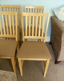 Four Dinning Room Chairs
