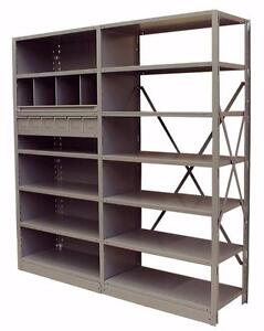 INDUSTRIAL SHELVING UNITS - WAREHOUSING - PARTS ROOMS, MRO